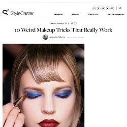 Weird Makeup Tricks That Really Work