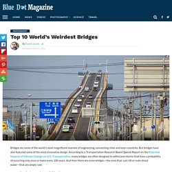 Top 10 World's Weirdest Bridges - Blue Dot Magazine