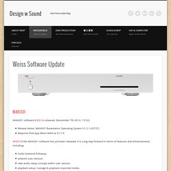 Weiss Software Update