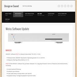Weiss Software Update