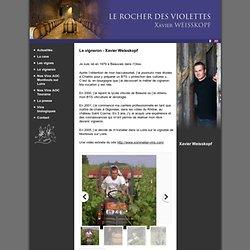 Le vigneron - Xavier Weisskopf - fr - Le vigneron - Domaine Le Rocher des Violettes - AOC Montlouis sur Loire - AOC Touraine