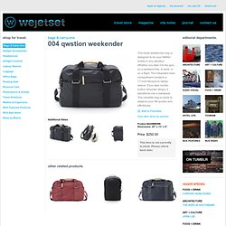 store - 007 Qwstion Weekender