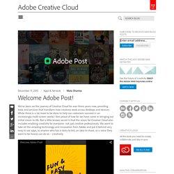Creative Cloud blog by Adobe