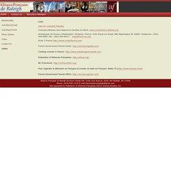 Welcome to Alliance Française de Raleigh-Durham-Chapel Hill, NC