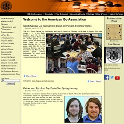 Welcome to the American Go Association