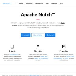 Welcome to Apache Nutch®