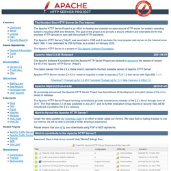 Welcome! - The Apache HTTP Server Project