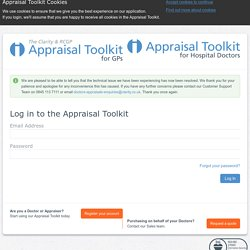 Welcome to the Appraisal Toolkit