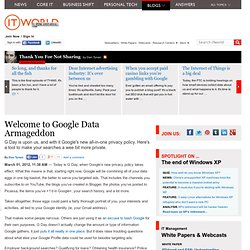 Welcome to Google Data Armageddon