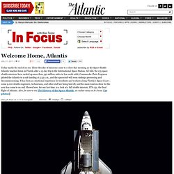 Welcome Home, Atlantis - Alan Taylor - In Focus