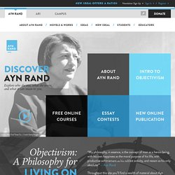 The Ayn Rand Institute: Objectivism