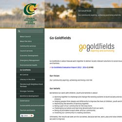 Welcome to Central Goldfields Shire - Go Goldfields