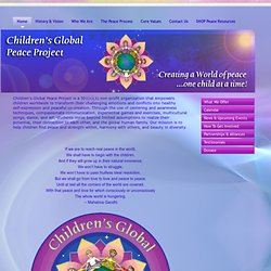 Children's Global Peace Project - Home
