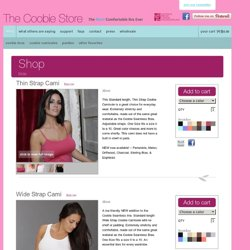 Shop || Welcome to The Coobie Bra Store || The World's Most Comfortable Bra