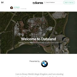 Welcome to Dataland — re:form