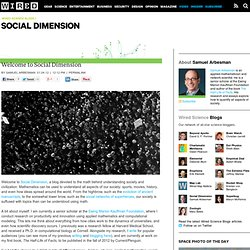 Welcome to Social Dimension | Wired Science
