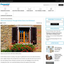 Celebrate Festival Through Doors & Windows at Fenesta