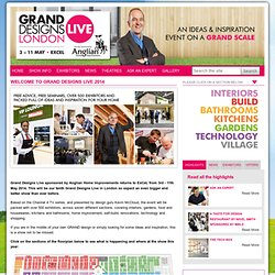 Welcome to Grand Designs Live 2013 - Grand Designs Live