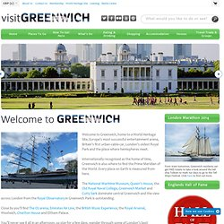Welcome to Greenwich