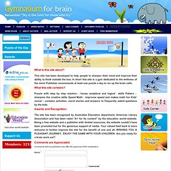 Home - Gymnasium for Brain