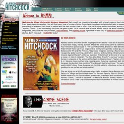 Welcome to Alfred Hitchcock's Mystery Magazine!