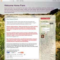 Welcome Home Farm