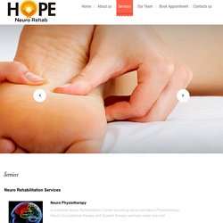 Welcome to Hope Neuro Rehab