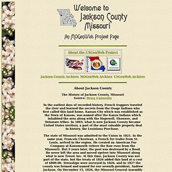 Jackson County Genealory