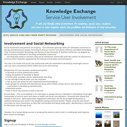 Welcome to Knowledge Exchange - Knowledge Exchange