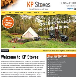Welcome to KP Stoves - KP Stoves