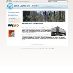 Welcome to Logan County, West Virginia!