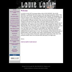 Louie Louie.net