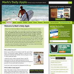 Welcome to Mark's Daily Apple