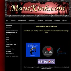 Welcome to MauiKink.com