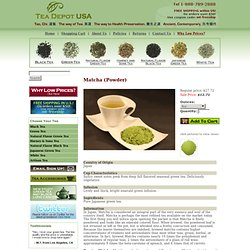 Welcome to Modern Teaism.com, Enjoy Healthy Tea at its Best!