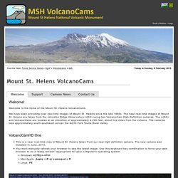 Mount St. Helens VolcanoCams - Mount St. Helens National Volcanic Monument