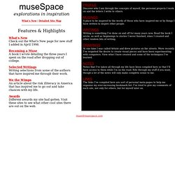 Welcome to museSpace!
