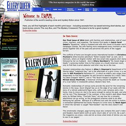 Welcome to Ellery Queen's Mystery Magazine!