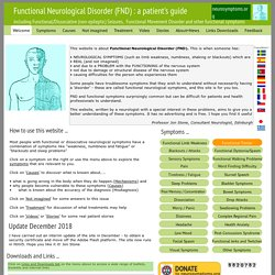 Welcome - neurosymptoms.org