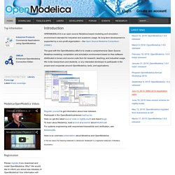 Welcome to OpenModelica