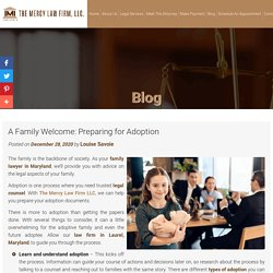 A Family Welcome: Preparing for Adoption