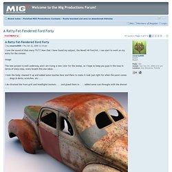 View topic - A Ratty Fat-Fendered Ford Forty
