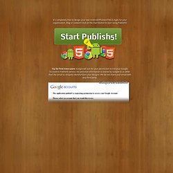 Welcome - Publish5