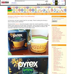 Welcome to Pyrex Love
