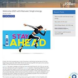 Welcome 2021 with Ranveer Singh energy