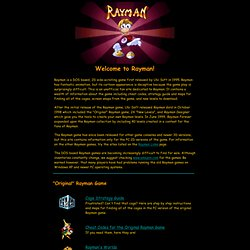 Welcome to Rayman!