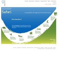 Welcome to SAFARI