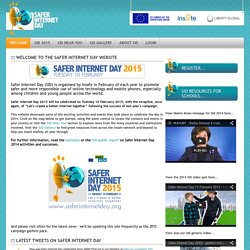 Welcome - Safer Internet Day
