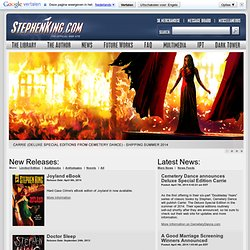 Welcome to StephenKing.com!