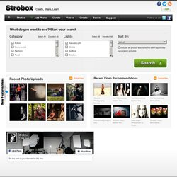 Welcome to Strobox - Create, Share, Learn